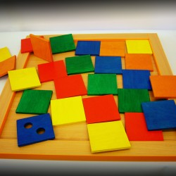 Conundrum Colored Cubes