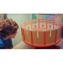 Stroboskop bubnový – ilúzia...